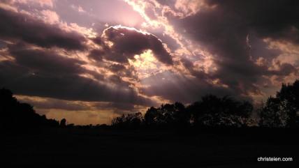 Summer Night Sky Over Belle Plaine Minnesota (1)