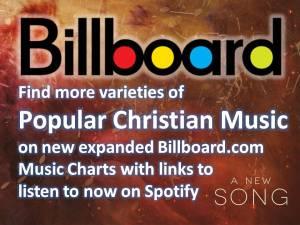 Billboard Christian Music Charts Spotify