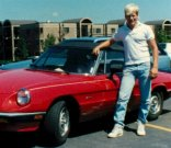 Me and Alfa Romeo in 1987