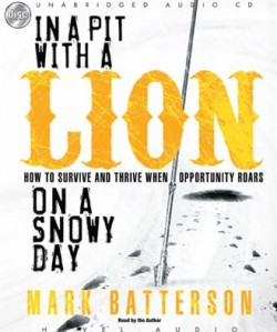 In a Pit with a Lion on a Snowy Day Audio book