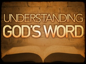 Reading and Understanding Gods Word