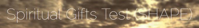 Spiritual Gift Tests - Towns.