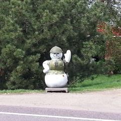 Roadside Greeter Minnesota River Scenic Road
