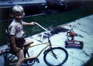 Chris Teien First Bike