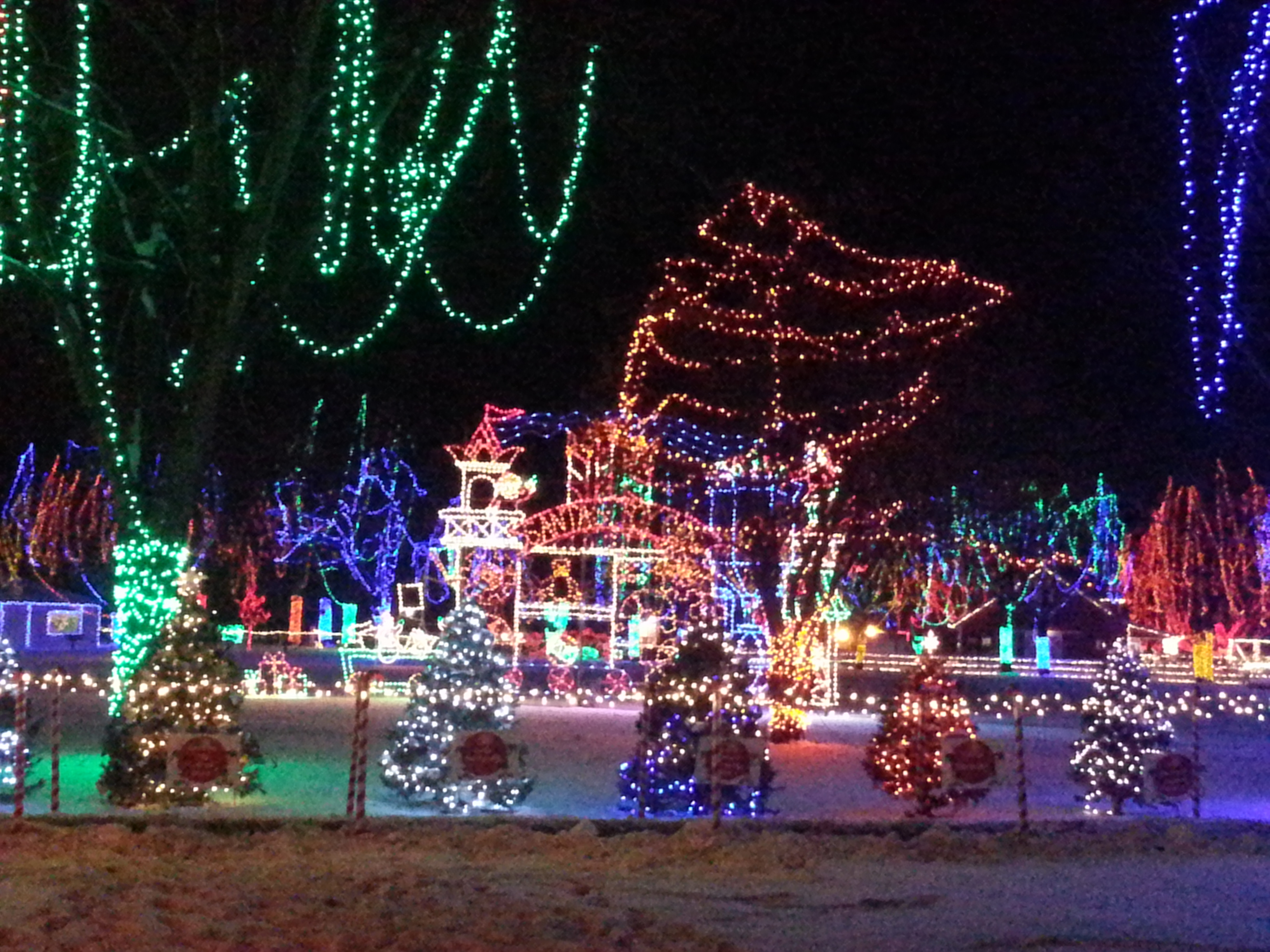 Amazing christmas holiday light display in mankato mn chris teien