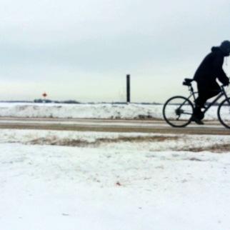 Riding -6 Below Zero -20 Windchill