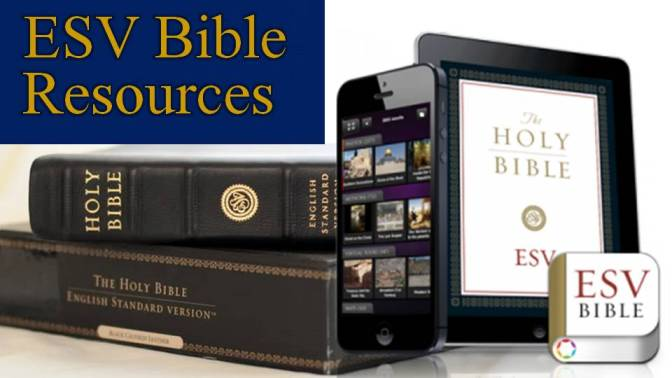 Tools and Resources using the 2011 ESV Bible Translation