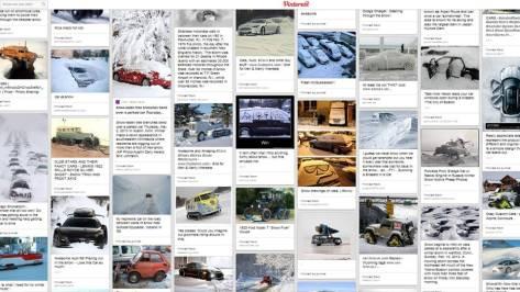 Snow Cars on Pinterest