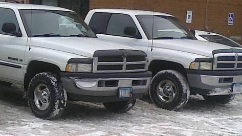 Twin Dodge Rams