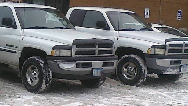 Twin Dodge Rams