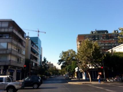 Buildings in Santiago, Chile