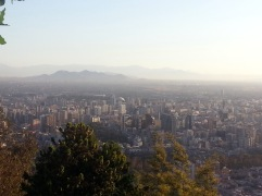 Chris Teien Overlooking City of Santiago (10)