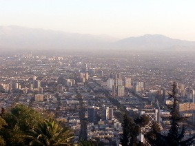Chris Teien Overlooking City of Santiago (3)