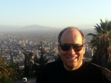 Chris Teien Overlooking City of Santiago (4)
