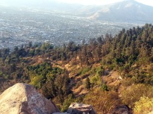 Chris Teien Overlooking City of Santiago (5)