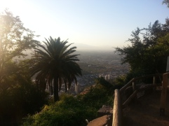 Chris Teien Overlooking City of Santiago (8)