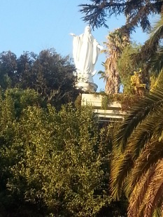 Chris Teien Overlooking City of Santiago (9)