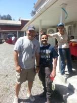 Leading Volunteer Work Crews in Chile