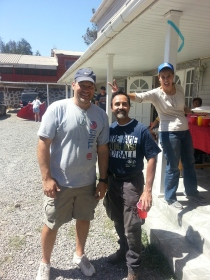 Leading Volunteer Work Crews in Chile