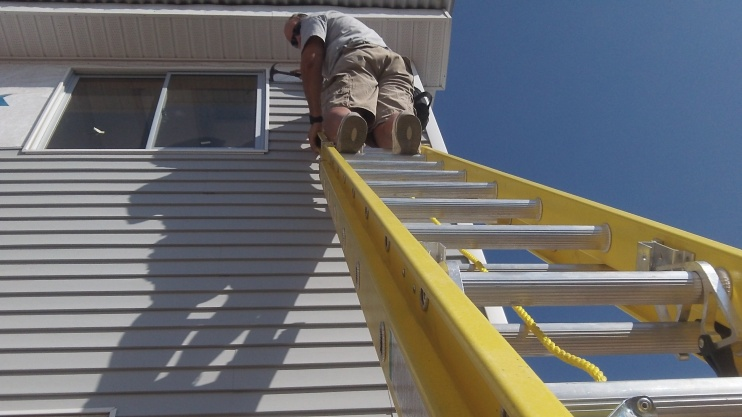 I am so glad they bought this strudy ladder