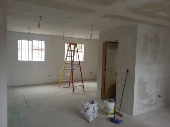 This room is almost ready to paint