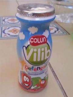 I think it is yogurt or something like that