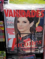 El Sandra Bullock in Chile Magazine?